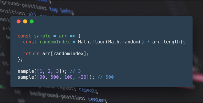Coding Interview Question: Build a Function that Selects a