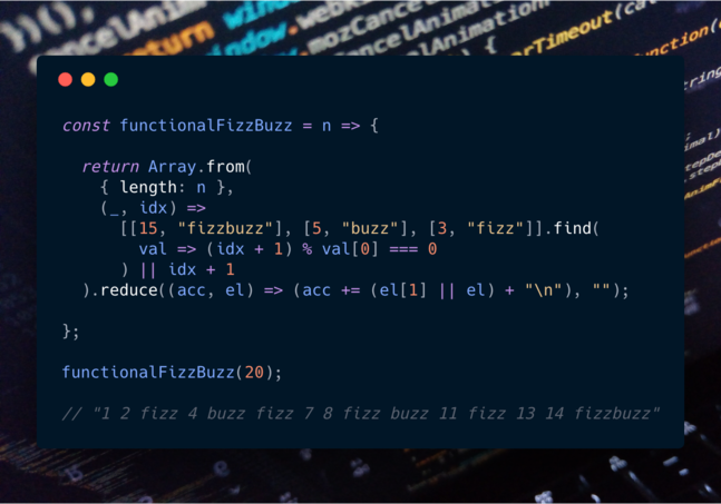 Feature thumb js functional fizzbuzz