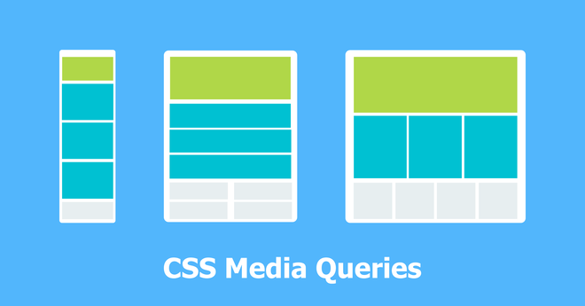 Feature thumb media query example