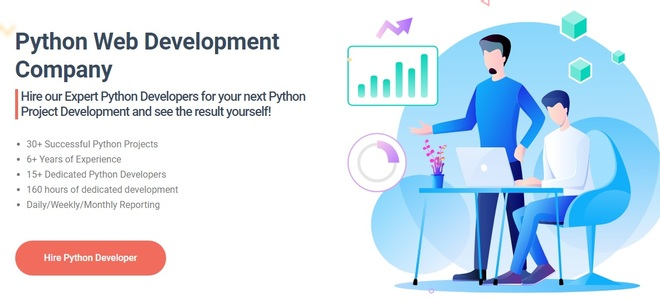 Feature thumb python web development company