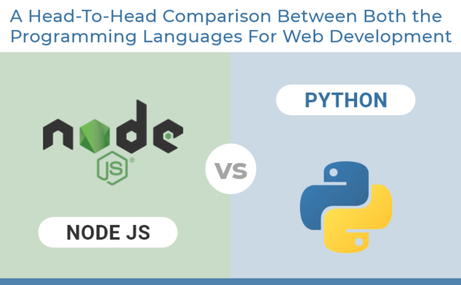 Feature thumb node.js vs python  a head to head comparison between both the programming languages for web development